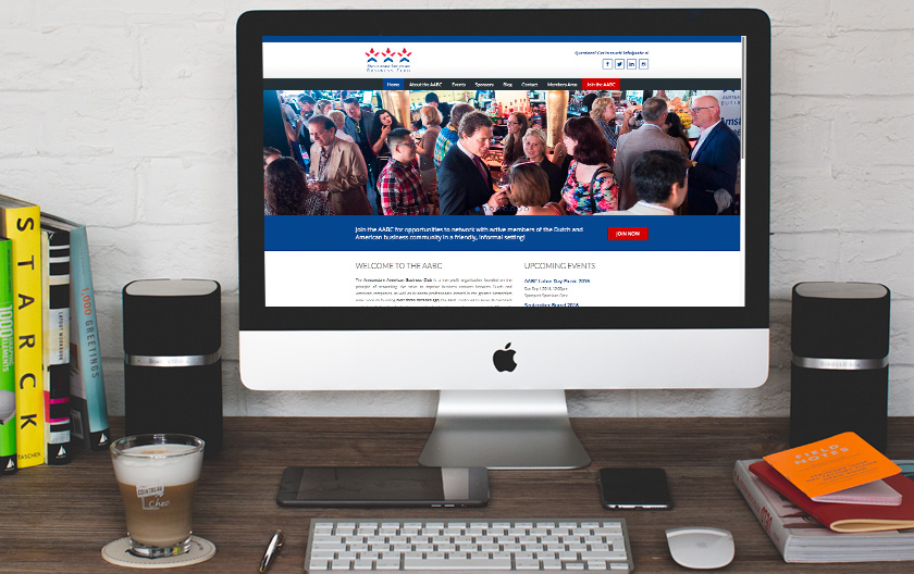 Amsterdam American Business Club Website