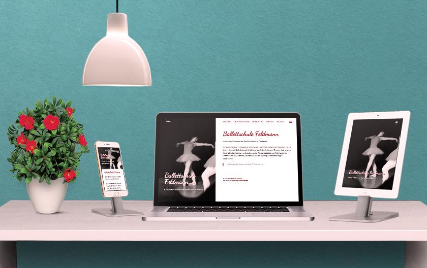 Ballettschule Feldmann Website