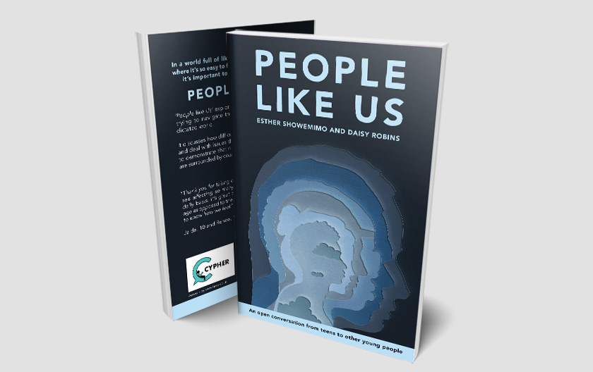 People Like Us Paperback Book Design