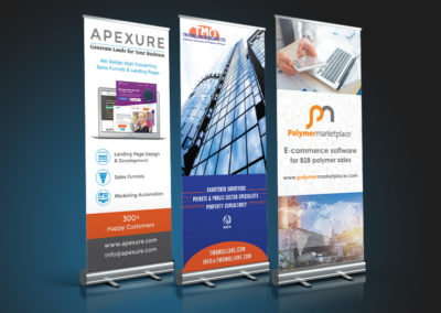 Roller Banners Gallery