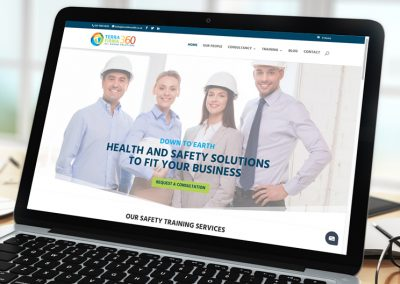Terra Firma 360 Health & Safety Consultants Website
